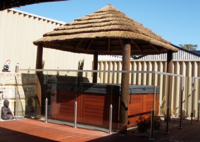 3.3x3.3m DIY-African Square Gazebo