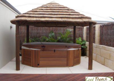 3.8x3.8m DIY-African Square Hut