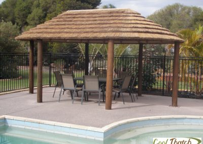 3.8x6m DIY-African Oval Gazebo