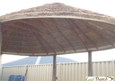 4.4x6m DIY-African Oval Gazebo