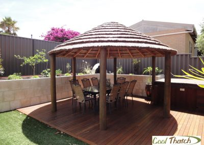 4.8m DIY-African Round Gazebo
