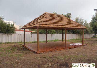 5x8m African Thatch Hut