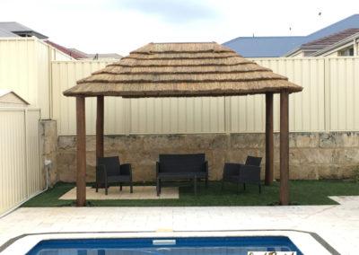 3.3x4.5m DIY-African Rectangle Hut